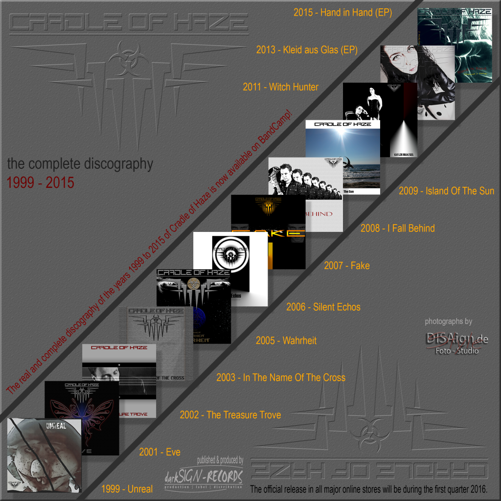 Cradle of Haze veröffentlichen komplette Diskografie aus den Jahren 1999 – 2015
